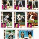 1984 Topps San Francisco Giants Set-28 Cards