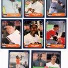 1986 Fleer San Francisco Giants Set-23 Cards