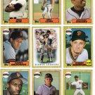 1987 Topps San Francisco Giants Set-30 Cards
