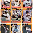 1988 Donruss Baseballs Best San Francisco Giants-12 Cd