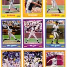 1988 Score San Francisco Giants Set-26 Cards