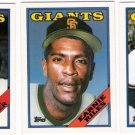 1988 Topps Traded San Francisco Giants Set-3 Cards