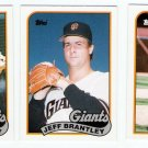1989 Topps Traded San Francisco Giants-3 Cards