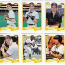 1990 Fleer Update San Francisco Giants Set-6 Cards