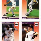1992 Score Update & Rookies San Francisco Giants-4 Cd