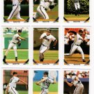 1993 Topps San Francisco Giants Set-28 Cards