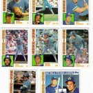 1984 Topps Seattle Mariners Team Set-28 Cards