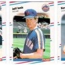 1988 Fleer Update Seattle Mariners Team Set-4 Cards