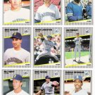 1989 Fleer Seattle Mariners Team Set-23 Cards