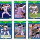 1990 Score Rising Stars Seattle Mariners-6 Cd