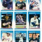 1987 Fleer Texas Rangers Team Set-24 Cards