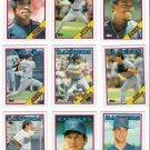 1988 Topps Texas Rangers Team Set-27 Cards