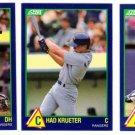 1989 Score Rising Stars Texas Rangers-3 Cd