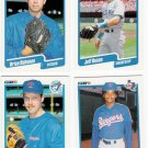1990 Fleer Update Texas Rangers-4 Cards