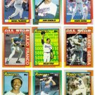 1990 Topps Texas Rangers Team Set-34 Cards