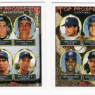 1993 Topps Top Prospects Set-10 Cards