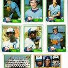 1981 Topps Toronto Blue Jays Team Set-24 Cards