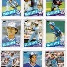 1985 Topps Toronto Blue Jays Team Set-28 Cards