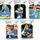 1988 Fleer Update Toronto Blue Jays Team Set-6 Cards