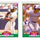 1989 Score Update Toronto Blue Jays Team-2 Cards