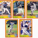 1990 Score Update & Rookies Toronto Blue Jays-5 Cd