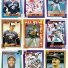 1990 Topps Toronto Blue Jays Team Set-33 Cards