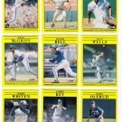 1991 Fleer Toronto Blue Jays Team Set-26 Cards