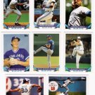 1993 Topps Toronto Blue Jays Team Set-27 Cards