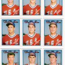 1988 Topps Traded USA Olympic Team-21 Cards