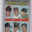 1970 Topps American League Pitching Leaders-3, Card #70