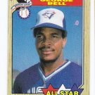Lot of (55) 1987 Topps George Bell All-Star Cards-Card #612