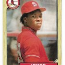 Lot of (50) 1987 Topps Vince Coleman Baseball Cards-Card #590