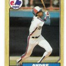 Lot of (58) 1987 Topps Andre Dawson Cards-Card #345