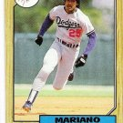 Lot of (54) 1987 Topps Mariano Duncan Cards-Card #199