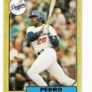 Lot of (53) 1987 Topps Pedro Guerrero Cards-Card #360