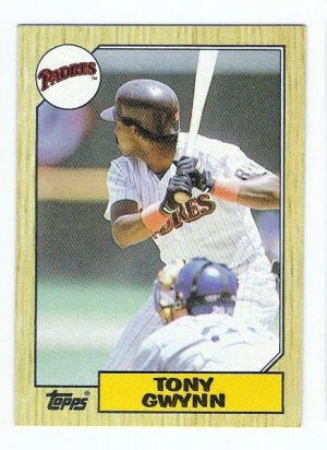 Lot of (15) 1987 Topps Tony Gwynn Baseball Cards-Card #530