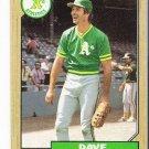 Lot of (62) 1987 Topps Dave Kingman Baseball Cards-Card #709