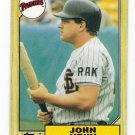 Lot of (24) 1987 Topps John Kruk Baseball Cards-Card #123