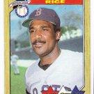 Lot of (24) 1987 Topps Jim Rice All-Star Baseball Cards-Card #610
