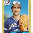 Lot of (55) 1987 Topps Dave Stieb Baseball Cards-Card #90
