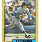 Lot of (54) 1987 Topps Fernando Valenzuela Cards-Card #410
