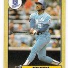 Lot of (62) 1987 Topps Frank White Baseball Cards-Card #692