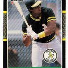 Lot of (30) 1987 Donruss Jose Canseco Rookies, Card #97