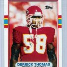1989 Topps Traded Derrick Thomas Rookie, Card #90T