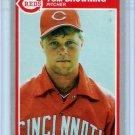 1985 Fleer Update Tom Browning Rookie-3, Card #U-12