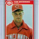 1985 Fleer Update Tom Browning Rookie-5, Card #U-12