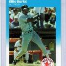 1987 Fleer Update Ellis Burks Rookie-2, Card #U-15