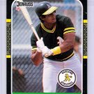 1987 Donruss Jose Canseco Rookie-2, Card #97