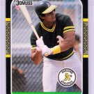1987 Donruss Jose Canseco Rookie-6, Card #97