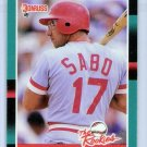 1988 Donruss The Rookies Chris Sabo-2, Card #30